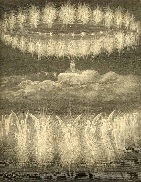 Angels in Heaven by Gustave Doré