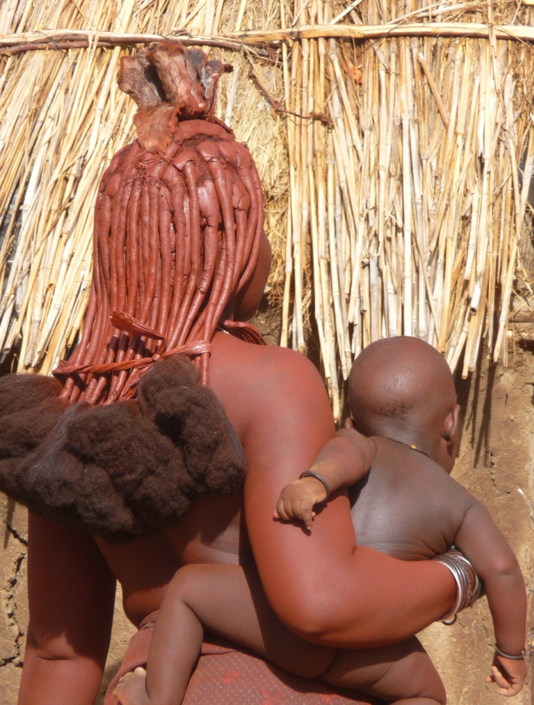 Himba motherbaby