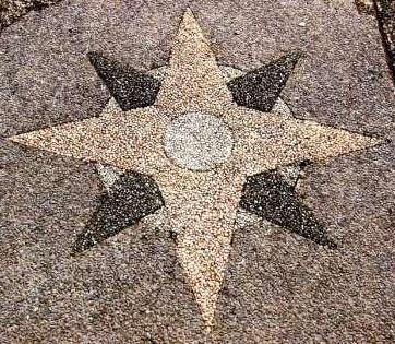 Star forms in stone